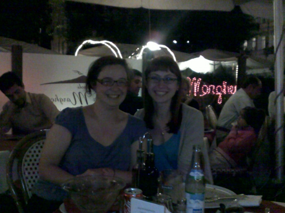 First Night Out - Turin - Dinner with our host Francesca