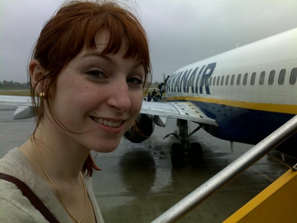 Chegando em Girona